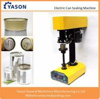 Electric tin seamer can sealing machine for tins cans