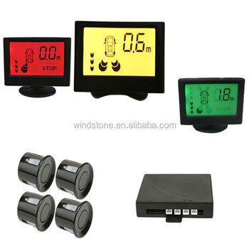 Colorful LCD Display Parking Sensor