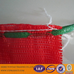 50x80cm PP/PE mesh bag usde for packaing fruit and vegetable with wholesale price, firewood potato mesh bag