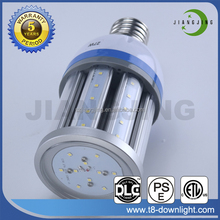 Ra>80 DLC Approved IP64 Waterproof E27 E40 LED Corn Light Bulb