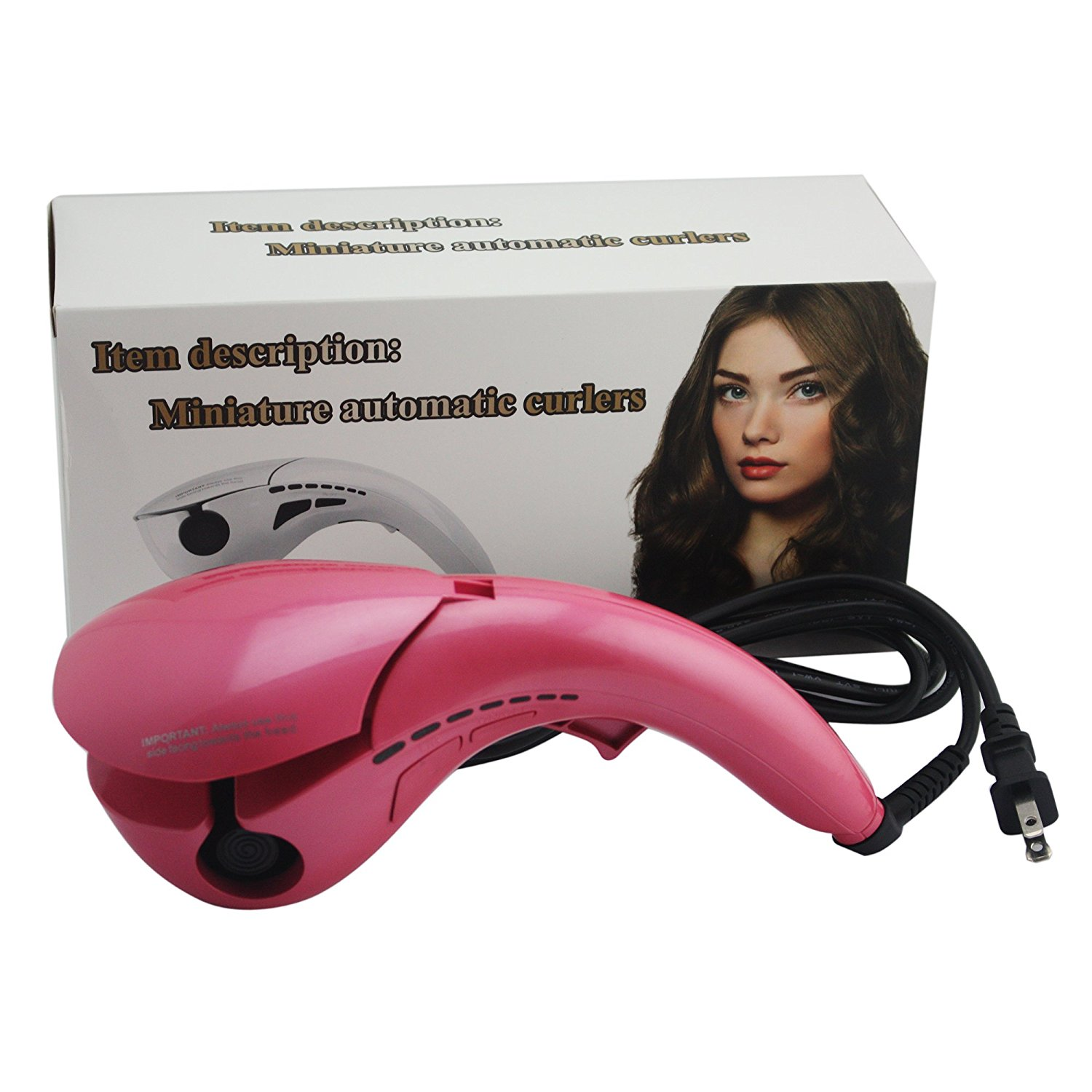 mermaid magic hair curling iron tools mini anion ceramic luxury automatic curler rolling curling set electric steam hair curler