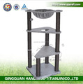 QQPET BSCI Factory Tall Large Cat Tree with Hammock & Condo