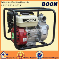 Gasoline engine 3 inch water pumps set for sale with high lift
