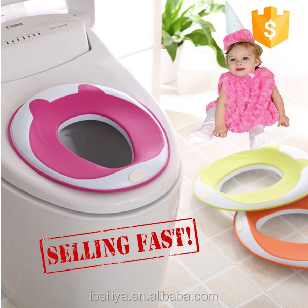 Plastic Lightweight and Portable Travel Potty Seat for Kids