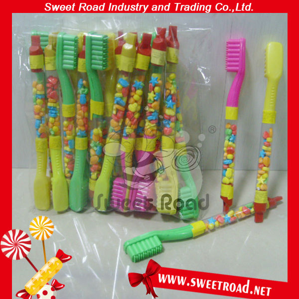 Plastic Toothbrush Toy Candy