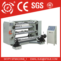 Ruian Shunfeng Brand plastic film vertical automatic slitting and rewinding machine price