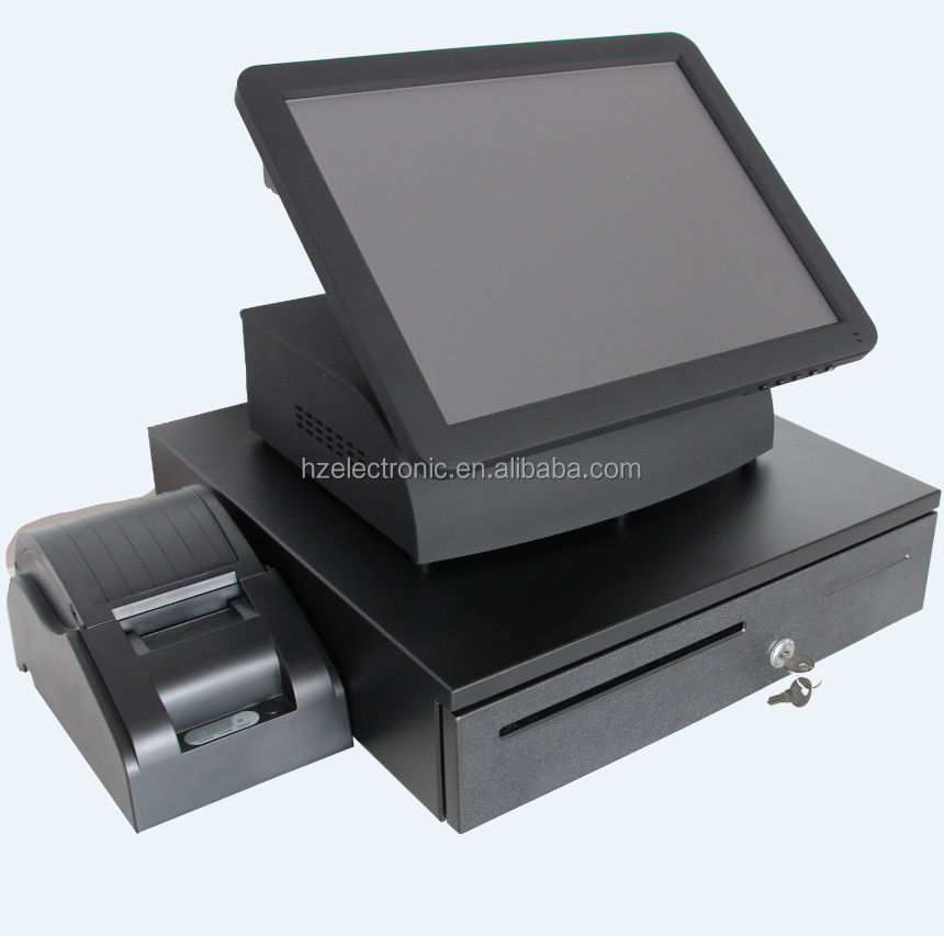 china touch screen pos windows 7 system