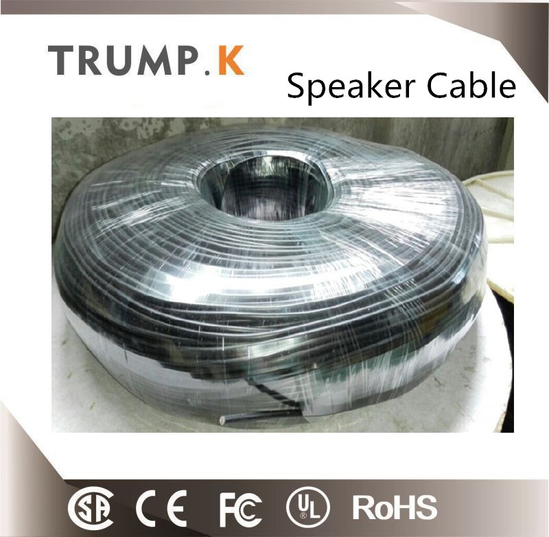 PVC insulated speaker coil wire CCA/CCS speaker cable wire