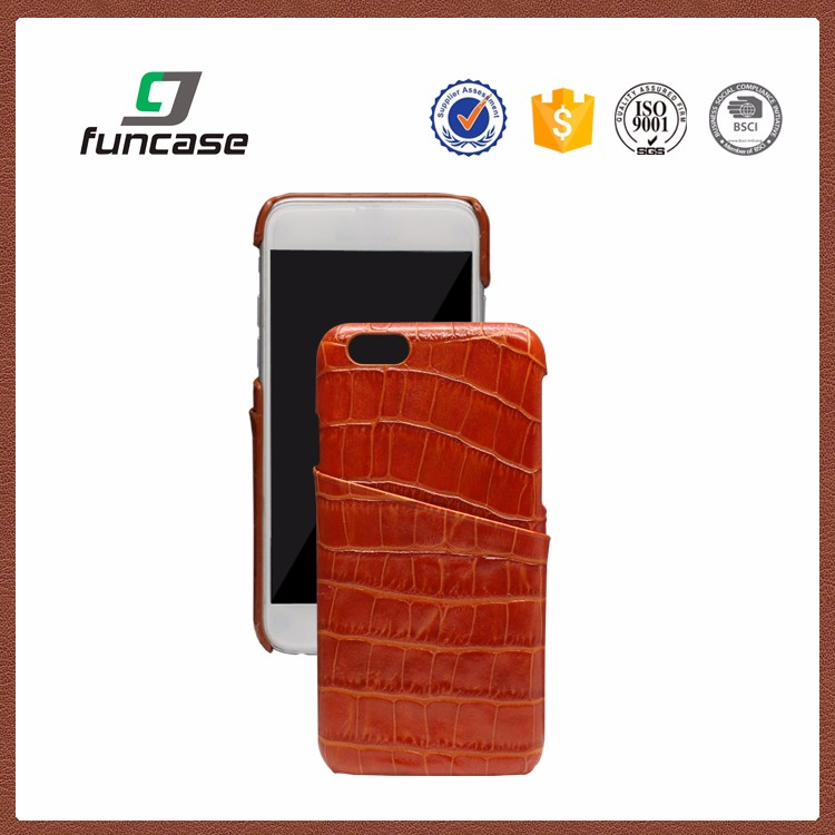 Factory OEM supply mobile phone leather case shockproof phone case for iphone 6