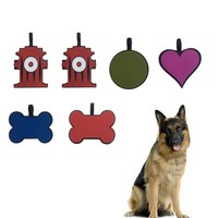 Silicone Dog Tags Wholesale Pet Id Tags Personalized Blank Name Silicone Pets Tags