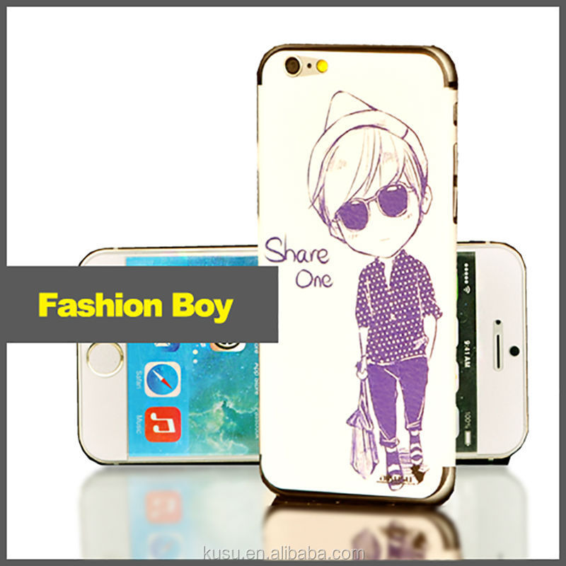 Decoration for iphone 6 3m adhesive skin sticker
