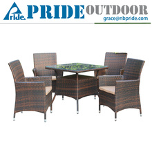 Courtyard Leisure Synthetic Rattan Furniture Cheap Manufacturers Outdoor poly Rattan Garden Furniture