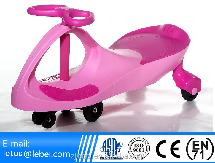 Smart CE EN71 ASTMF963 approval Lebei Kids PP and Iron material playing twist car