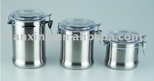 Stainless Steel Canister Set