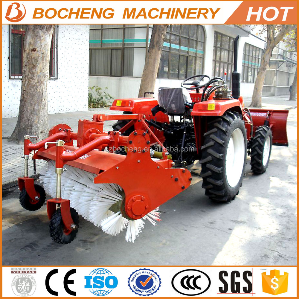 Discount!!! Farm tractor mounted high quality snow broom snow sweeper