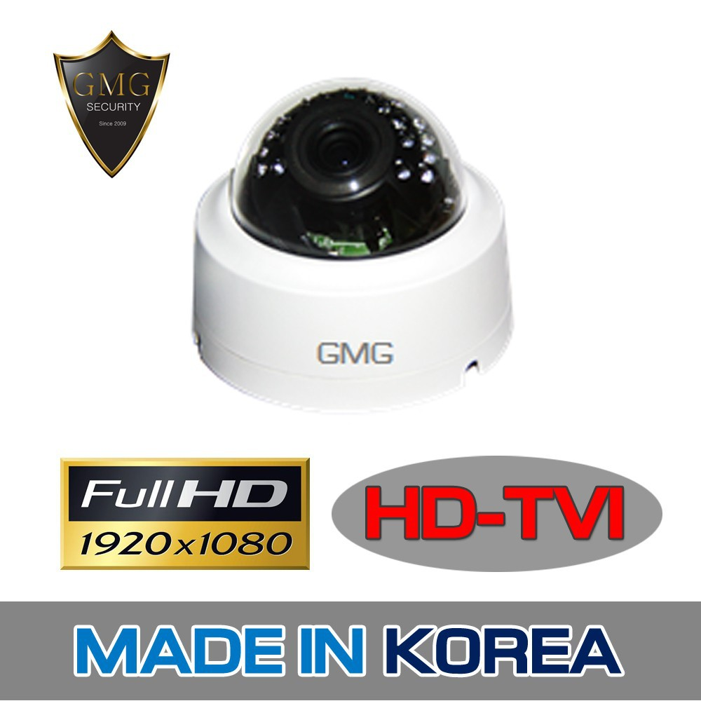 HD-TVI 2MPIndoor Dome Camera from Korea