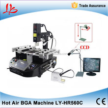 BGA / SMT rework hot air HR560C bga rework station with high successful rate for laptop motherboards repairing