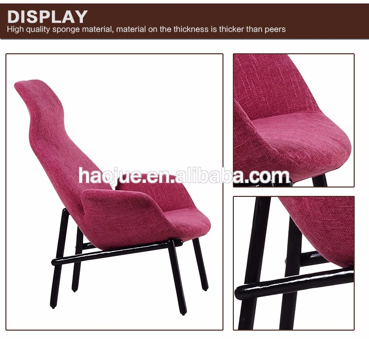 B335-1 wholesale modern furniture lounge chair with ottoman