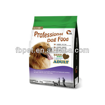 Balanced Natural dog food kibbles