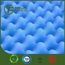 PU Blue color Absorbing Acoustical Eggcrate Foam