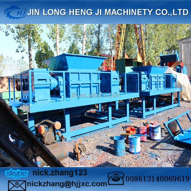High and steady quality, long duration shredder machines for plastic crusher/shredder