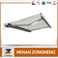 high quality outdoor full cassette aluminum retractable awning motor