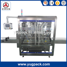 Best selling small bottle Automatic Filling Production Line with 6 filling nozzles