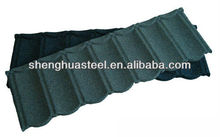 Africa popular light weight building materials colorful stone chip coated metal corrugated roof/roofing tiles/sheets