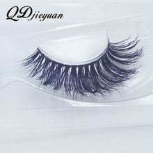 Clear band mink lashes 3d mink eyelashes packaging private label