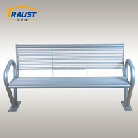 Outdoor furniture steel decking bench,we are bench expert!