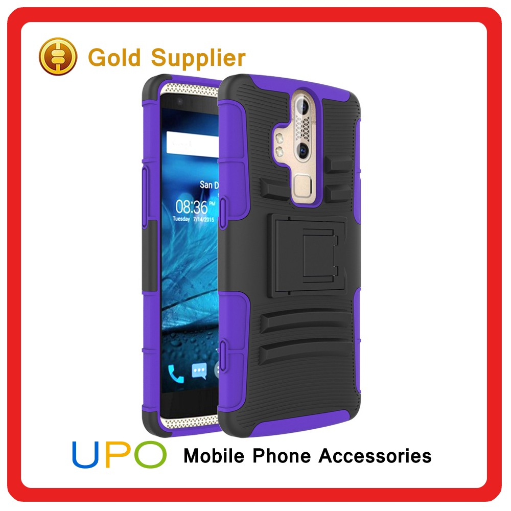 [UPO] Custom Future Armor Impact Skin Holster Protector Phone Case for ZTE Warp Elite N9518 Combo Covers