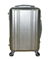 aluminum IATA airport luggage trolley multi universal wheels trolley case