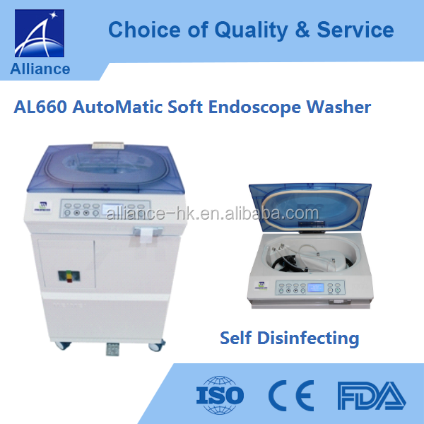 AutoMatic Soft Endoscope Washer Self disinfecting