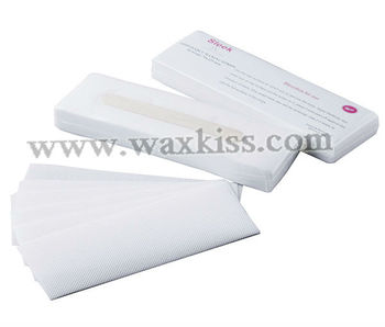high quality wholesale free sample professonal disposable wax strips for hair removal
