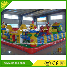 Factory supply inflatable trampoline castle/jumping bouncy
