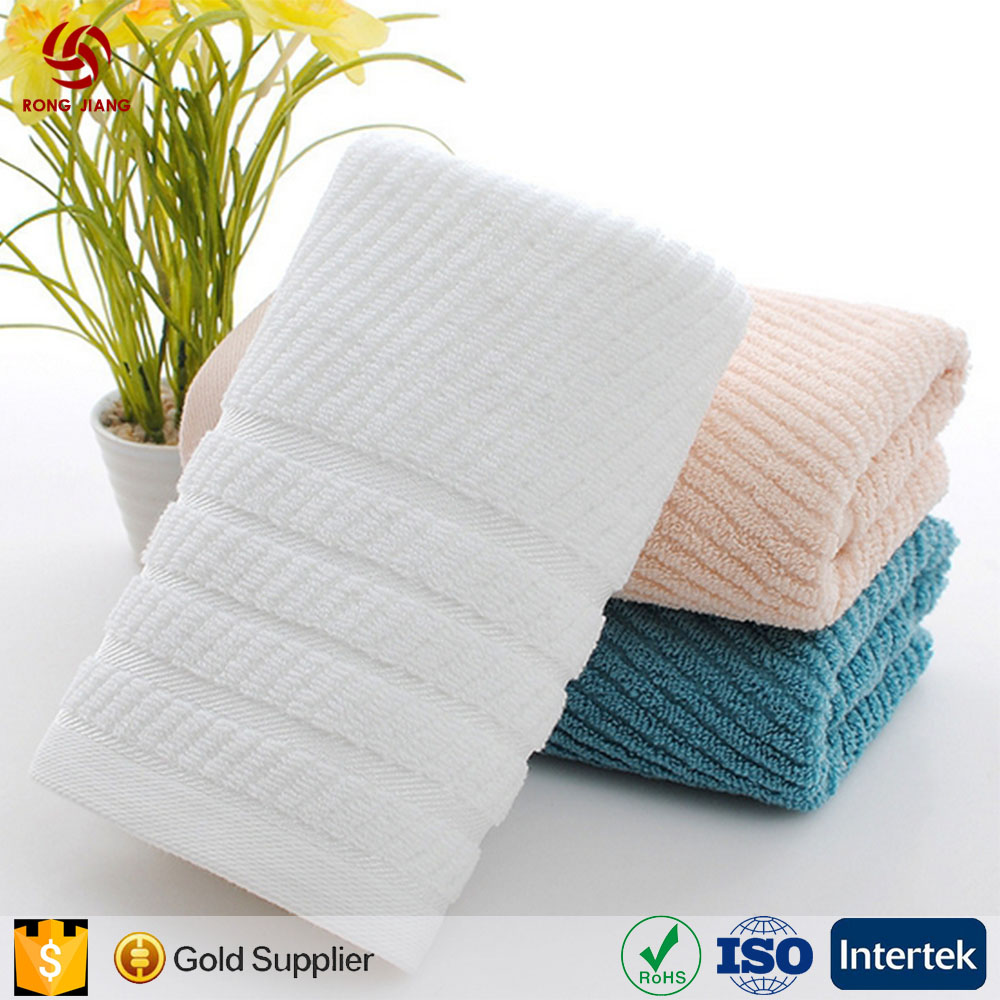 Wholesale Luxury 100% Turkish Cotton Towel 5 Star Hotel Jacquard Hand Towel