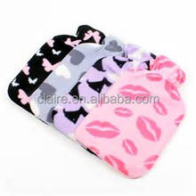 Warm Tradition Pink Fleece Hot Water Bottle Cover