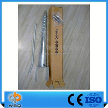 Hot Dipped Galv. Steel Ground Screw Post U71