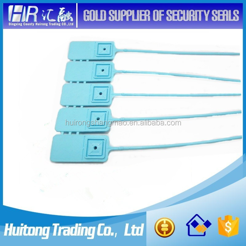 from China tote security plastic seal with serial-number for cargo trailer