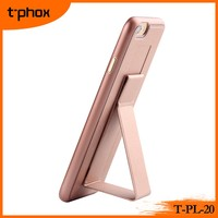 t-phox t-pl-20 colorful bracket shell stand PP leather mobile phone case/cover