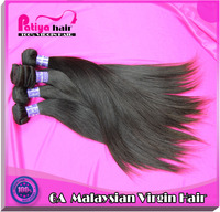 Guangzhou Patiya Virgin hair company Top quality 6A straight virgin Malaysian hair