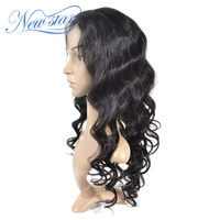 20inch New Star Brazilian Hair Human Hair Full Lace Wig With Baby Hair In Front