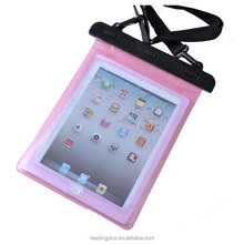 Hot selling waterproof case bag for iPad 3,wholesale waterproof cases for Samsung tablet PC