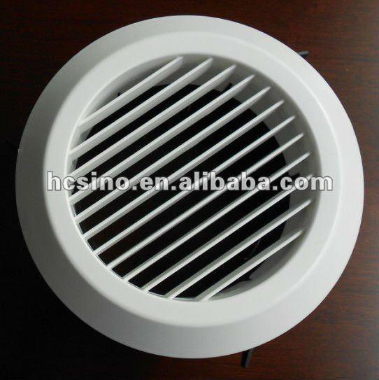 Plastica fresco rotondo soffitto canalizzazione air vent - Canalizzazione aria condizionata ...