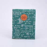 Languo note books geometry sketch fabric covered notebook