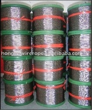 Vinyl/PVC/Nylon Coated Stainless Steel Wire Rope7*19