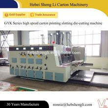 China biggest supplier carton printing die cutting machine