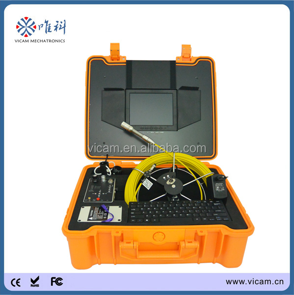 underground underwater pipe line inspection measuring instruments drain camera V8-3188KC