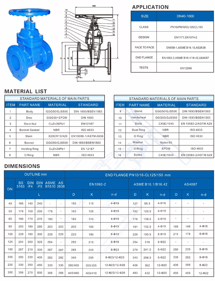 Non rising stem resilient soft seated gate valve