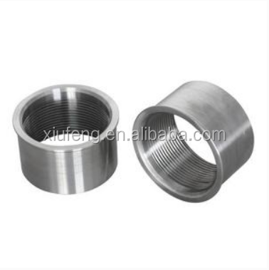 Stainless Steel Bushing, Lathe Turned Parts, Precision CNC Thread Sleeve